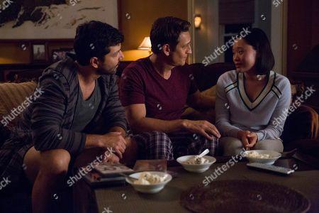 Alex Quijano as Steve Crimsen, Robert Gant as Todd Crimsen, Michelle Ang as Courtney Crimsen