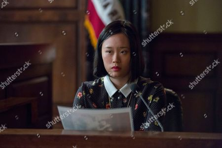 Stock Picture of Michelle Ang as Courtney Crimsen