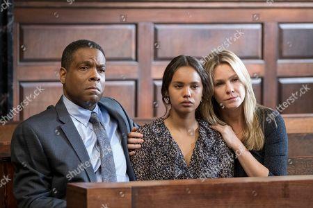 Joseph C. Philips as Mr. Davis, Alisha Boe as Jessica Davis, Andrea Roth as Noelle Davis