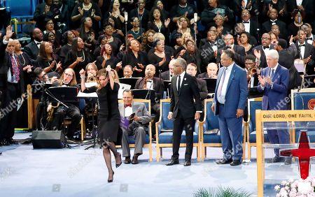 Editorial image of Aretha Franklin, Detroit, USA - 31 Aug 2018
