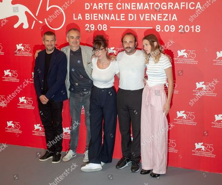 Guillaume Canet, Olivier Assayas, Nora Hamzawi, Vincent Macaigne and Christa Theret