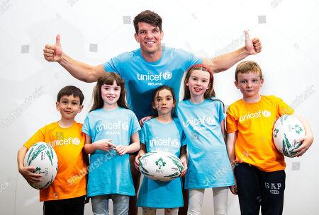 Editorial photo of UNICEF Ambassador Donncha O'Callaghan Announces Testimonial Gala Dinner, Dublin  - 31 Aug 2018