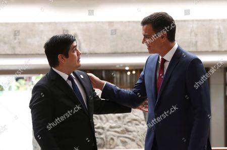 Spanish prime minister pedro sanchez r greets editorial stock photo spanish prime minister pedro sanchez r greets editorial stock photo stock image shutterstock m4hsunfo