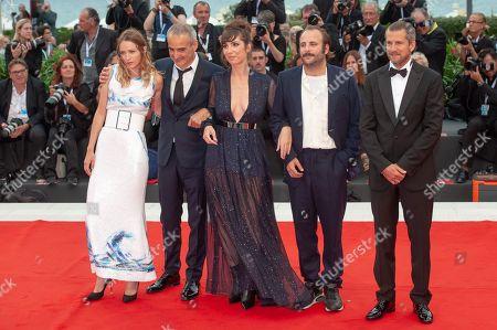 Christa Theret, Olivier Assayas, Nora Hamzawi, Vincent Macaigne, Guillaume Canet