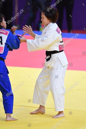 Monique Gonzalez Tamaoki (JPN) - Judo : Women's -57kg at Jakarta Convention Center Plenary Hall