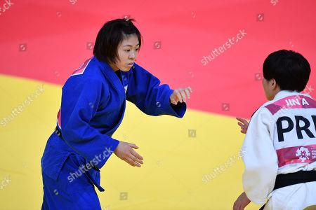 Monique Gonzalez Tamaoki (JPN) - Judo : Women's -57kg Final at Jakarta Convention Center Plenary Hall