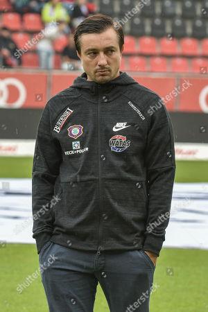 Editorial photo of Football: Germany, 2. Bundesliga, Ingolstadt - 31 Aug 2018