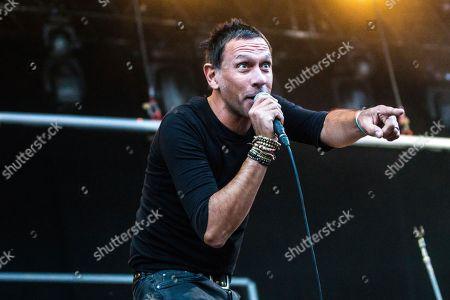 Editorial photo of Bingley Music Live Festival, Myrtle Park, UK - 31 Aug 2018
