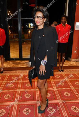 Audrey Pulvar attends the Opening Ceremony Dinner of the 44th Deauville American Film Festival