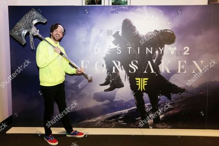 DJ Dillon Francis is pictured at the Destiny 2: Forsaken Gambit Showdown at Bungie headquarters on in Bellevue, Wash