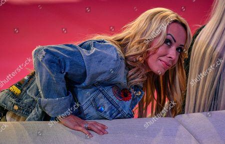 Stock Photo of Cora Schumacher beim Finale der 6. Staffel of Promi Big Brother auf dem MMC-Gelände in Köln  / 310818 *** / Start of German TV Show Promi Big Brother, Cologne, Germany - 31 Aug 2018*** ..Sascha Schuermann