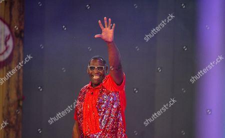 Alphonso Williams beim Finale der 6. Staffel of Promi Big Brother auf dem MMC-Gelände in Köln  / 310818 *** / Start of German TV Show Promi Big Brother, Cologne, Germany - 31 Aug 2018*** ..Sascha Schuermann