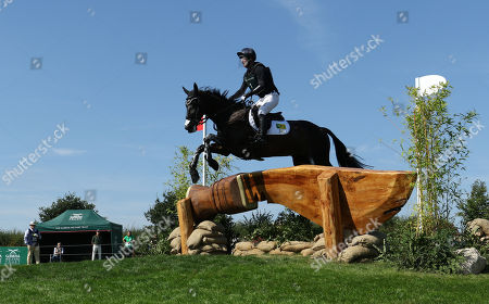 Oliver Townend on MHS King Joules on the Cross Country day of the 3 Day event