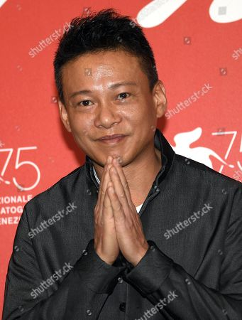 Taiwanese actor Lee Kang-sheng poses during a photocall for 'Ni de Lian' (Your Face) during the 75th annual Venice International Film Festival, in Venice, Italy, 01 September 2018. The festival runs from 29 August to 08 September 2018.