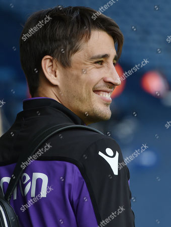 Bojan Krkic of Stoke City smiles