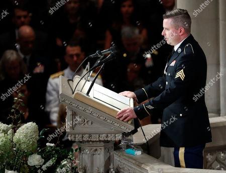 Editorial image of McCain, Washington, USA - 01 Sep 2018