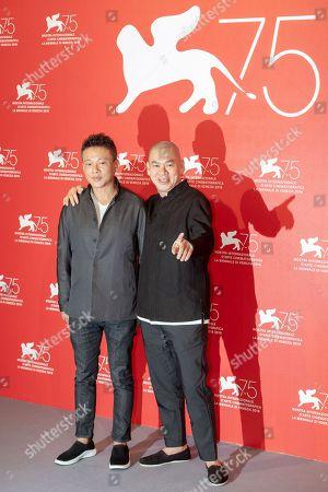 Stock Photo of Lee Kang-sheng and Tsai Ming-liang