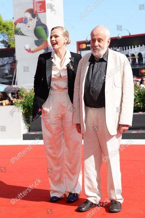Maxine Peake and Mike Leigh