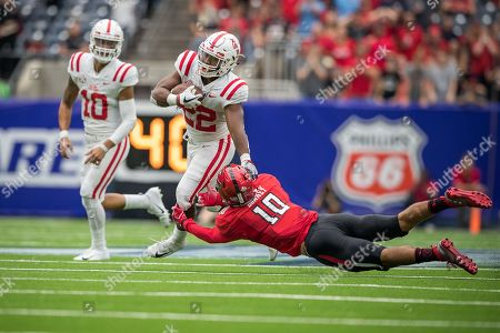 Editorial picture of NCAA Texas Tech vs Ole Miss, Houston, USA - 01 Sep 2018