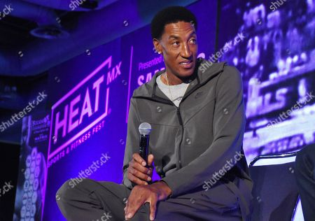 Scottie Pippen, during 'Heat Sports and Fitness Feast' at Citibanamex