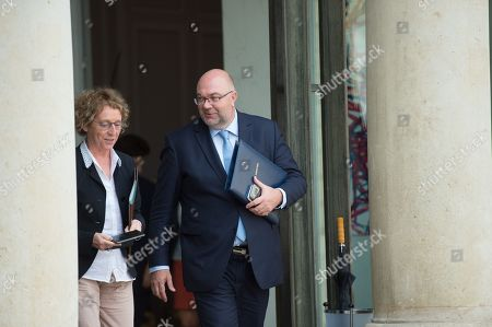 Labour Minister, Muriel Penicaud and agriculture Minister, Stephane Travert