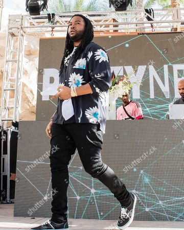 Editorial photo of PartyNextDoor in concert at Hard Rock Hotel and Casino, Las Vegas, USA - 01 Sep 2018