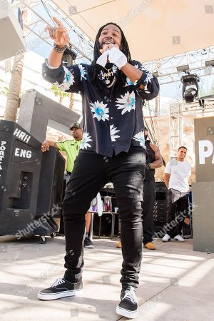 Editorial photo of PartyNextDoor in concert at Hard Rock Hotel and Casino, Las Vegas, USA - 01 Sep 2018