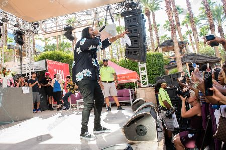 Editorial picture of PartyNextDoor in concert at Hard Rock Hotel and Casino, Las Vegas, USA - 01 Sep 2018