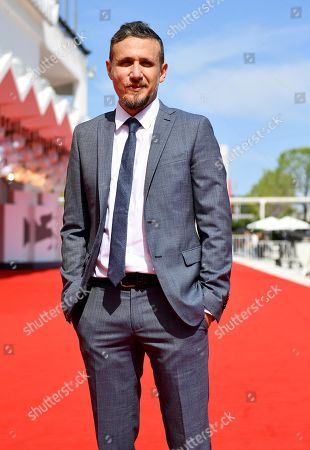 Italian director Roberto Minervini arrives for the premiere of 'What you gonna do when the world's on fire?' during the 75th annual Venice International Film Festival, in Venice, Italy, 02 September 2018. The movie is presented in the official competition 'Venezia 75' at the festival running from 29 August to 08 September 2018.