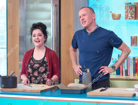 Helen Monks and Tim Lovejoy