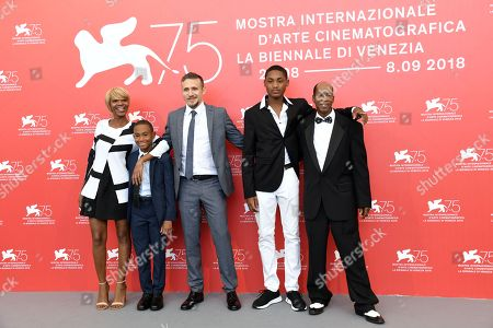 Editorial image of 'What You Gonna Do When The World's On Fire?' photocall, 75th Venice International Film Festival, Italy - 02 Sep 2018