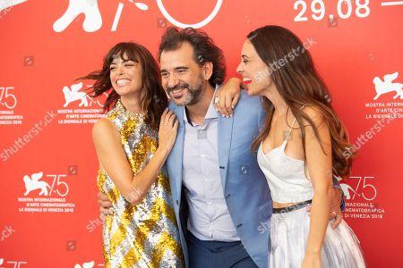 Berenice Bejo, Pablo Trapero, Martina Gusman
