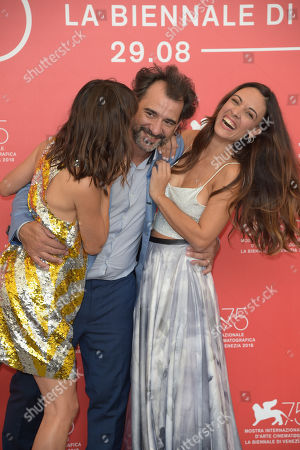 Pablo Trapero, Berenice Bejo, Martina Gusman