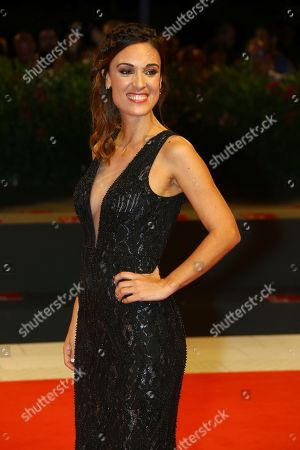 Martina Gusman poses for photographers at the premiere of the film 'La Quietud' at the 75th edition of the Venice Film Festival in Venice, Italy