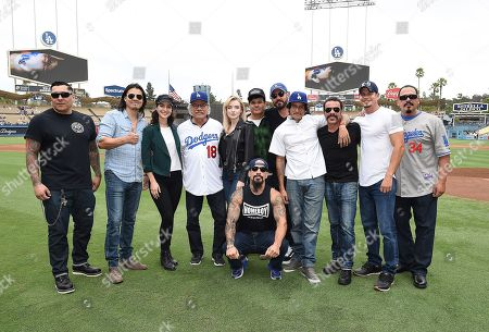 Editorial image of FX's 'Mayans MC' at Dodger Stadium, Los Angeles, USA - 02 Sep 2018