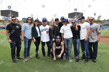 Editorial photo of FX's 'Mayans MC' at Dodger Stadium, Los Angeles, USA - 02 Sep 2018