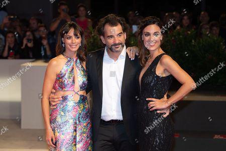 Stock Image of Berenice Bejo, Pablo Trapero, Martina Gusman