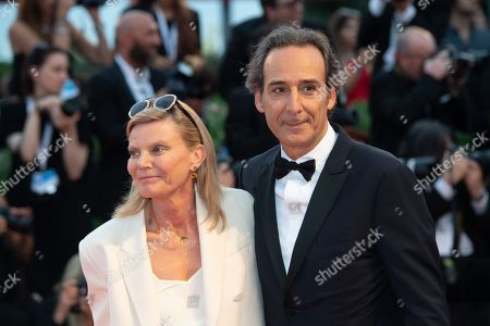 Alexandre Desplat and his wife, violinist Dominique Lemonnier
