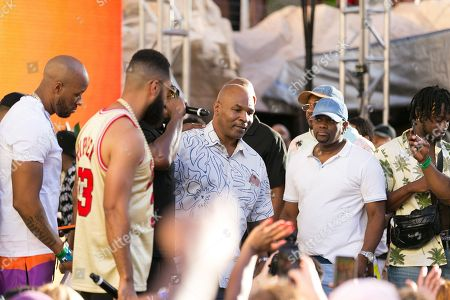 Sean Combs and Mike Tyson