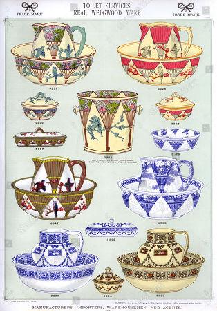 scenes,1880s,victorian,patterned,pattern,flowers,floral,white,jugs,jug