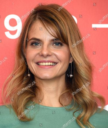 Hungarian actress Juli Jakab poses during a photocall for 'Napszallta (Sunset)' during the 75th annual Venice International Film Festival, in Venice, Italy, 03 September 2018. The movie is presented in official competition Venezia 75 at the festival running from 29 August to 08 September 2018.
