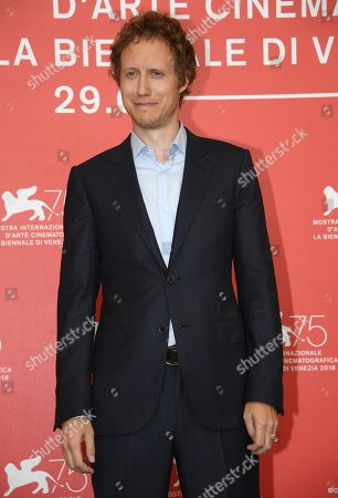 Hungarian director Laszlo Nemes poses during a photocall for 'Napszallta (Sunset)' during the 75th annual Venice International Film Festival, in Venice, Italy, 03 September 2018. The movie is presented in official competition Venezia 75 at the festival running from 29 August to 08 September 2018.