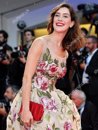 Argentinian actress Clara Alonso arrives for the premiere of  'At Eternity's Gate' at the 75th annual Venice International Film Festival, in Venice, Italy, 03 September 2018. The movie is presented in official competition 'Venezia 75' at the festival running from 29 August to 08 September.