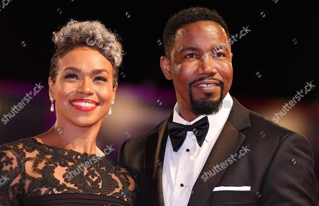 US actor and martial artist Michael Jai White with Gillian Iliana Waters arrive for the premiere of  'Dragged Across Concrete' at the 75th annual Venice International Film Festival, in Venice, Italy, 03 September 2018. The movie is presented out of competition at the festival running from 29 August to 08 September.