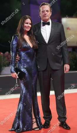 US actor Vince Vaughn and Kyla Weber arrive for the premiere of 'Dragged Across Concrete' during the 75th annual Venice International Film Festival, in Venice, Italy, 03 September 2018. The movie is presented in out competition at the festival running from 29 August to 08 September 2018.
