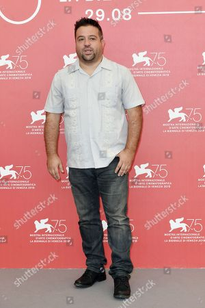 Editorial photo of 'The Armadillo Prophecy' photocall, 75th Venice Film Festival Photocall, Italy - 03 Sep 2018