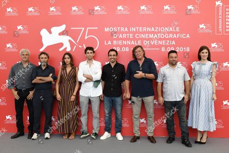 Editorial picture of 'The Armadillo Prophecy' photocall, 75th Venice Film Festival Photocall, Italy - 03 Sep 2018