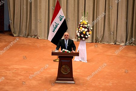 Editorial image of Parliament, Baghdad, Iraq - 03 Sep 2018