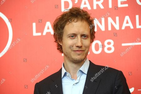 Laszlo Nemes poses for photographers at the photo call for the film 'Sunset' at the 75th edition of the Venice Film Festival in Venice, Italy