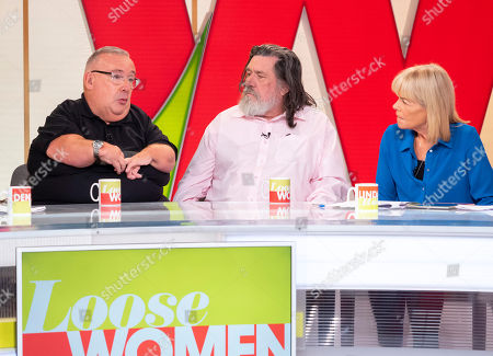 Gary Skyner and Ricky Tomlinson with Linda Robson
